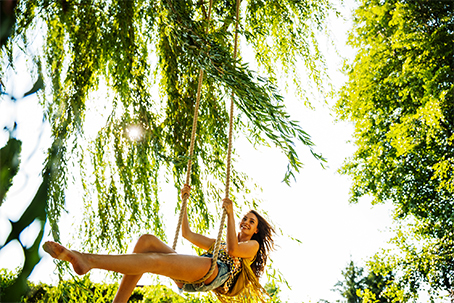 swing in tree